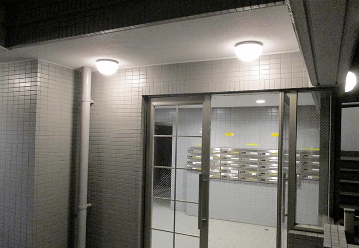 築15年以上のマンションについては、経年劣化により照明器具交換が必要